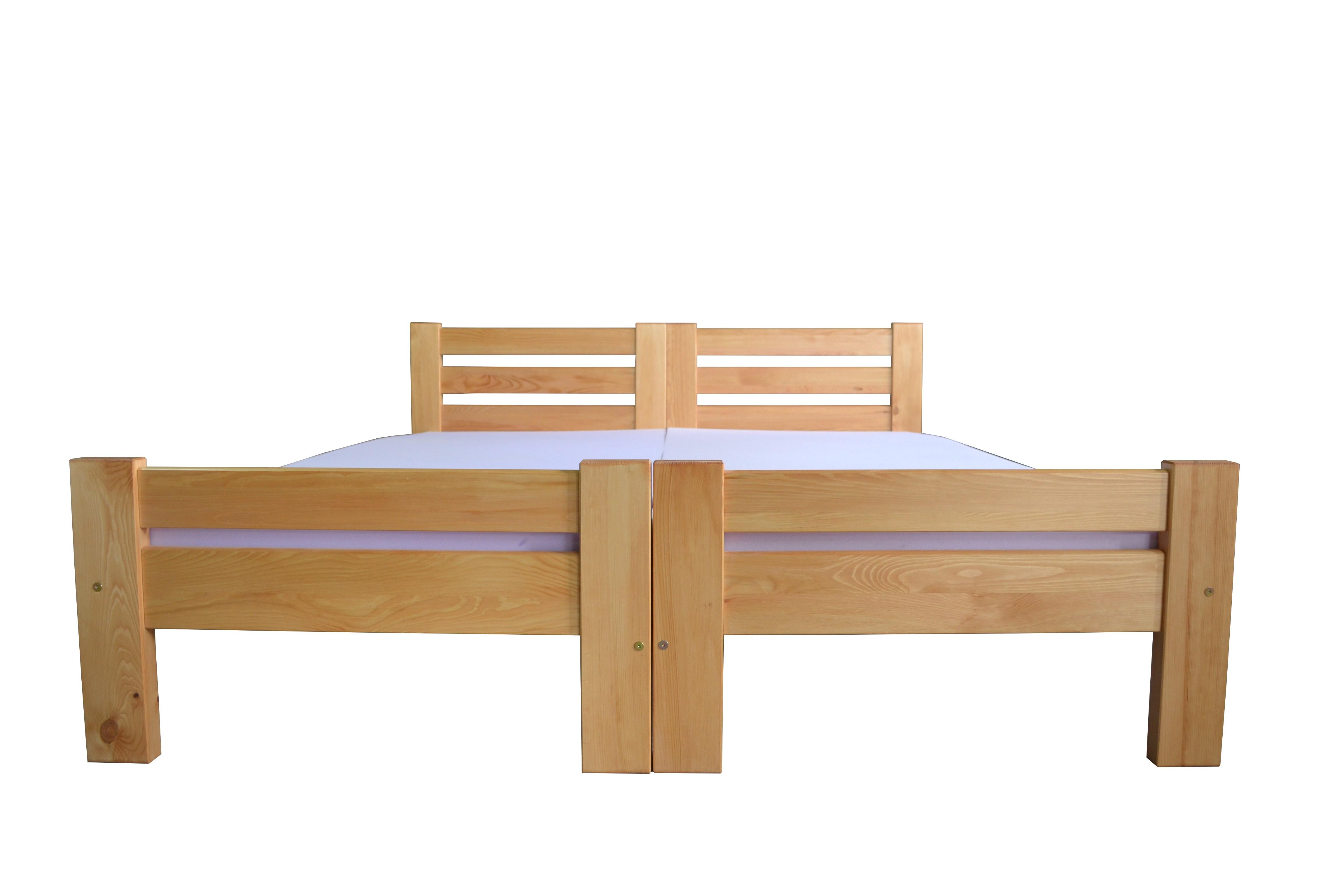 Drewniane łóżko Hotelowe łączone Roman